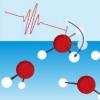 水表面分子通过游离OH基团的旋转失去能量