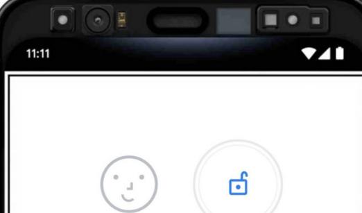 谷歌Pixel4的脸部解锁功能即使人闭着眼睛也能使人使用设备