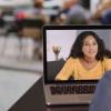 在典型的大学教室中社交联系是通过面对面的互动形成的
