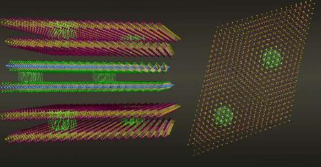 扭曲范德华材料作为实现奇异物质的新平台