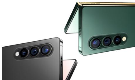 三星GalaxyZFold3智能手机新渲染图泄露边缘可能平坦