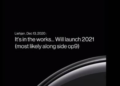 OnePlusWatch智能手表将很快发布