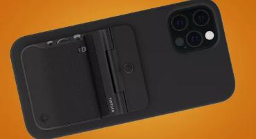这款巧妙的MagSafe保护套为您的苹果iPhone带来单反相机控制