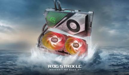 华硕推出配备Navi21XTXH的混合冷却ROGStrixRX6900XT