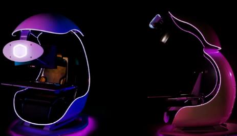CoolerMaster的OrbXpod旨在提供终极的沉浸式游戏体验