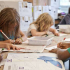 GCSE成绩与孩子在6岁时对学校的享受有关