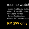 Realme不久前推出了它的第一款手表RealmeWatch