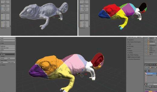 麻省理工学院创造可重新编程的墨水可利用光改变颜色