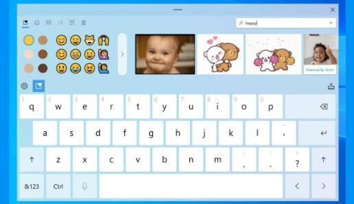 Windows10Preview专注于通过语音输入和表情符号搜索进行输入