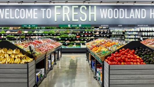 第一家亚马逊生鲜杂货店开门营业但祝你好运