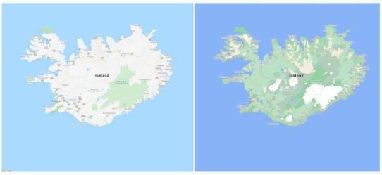 谷歌地图的新用户界面是多彩的天才