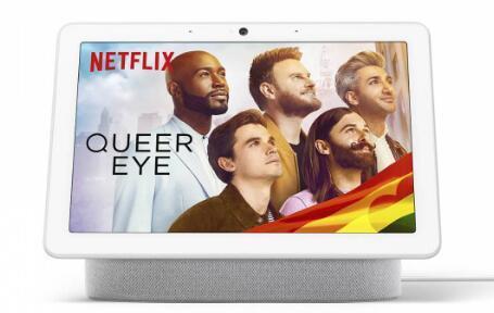 谷歌NestHub和HubMax智能显示器获得Netflix支持