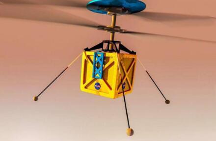 宇航局火星直升机准备飞行地球上的无人机可能会受益