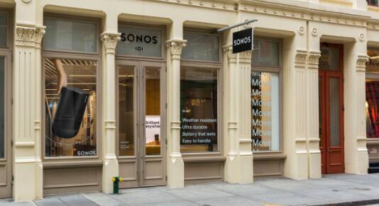 索诺斯在纽约的商店关门了裁员了
