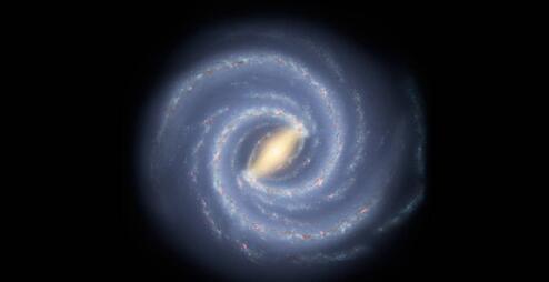 宇航局称银河系的质量为1.5万亿个太阳质量