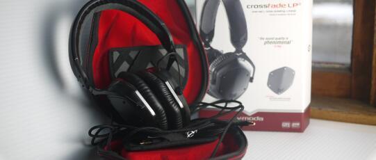 V-MODA 限量版 Crossfade LP2 耳机评测
