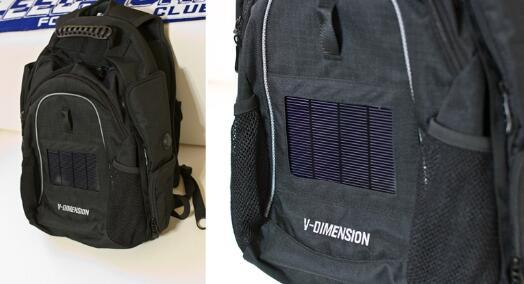 V-Dimension Helius 太阳能背包评测