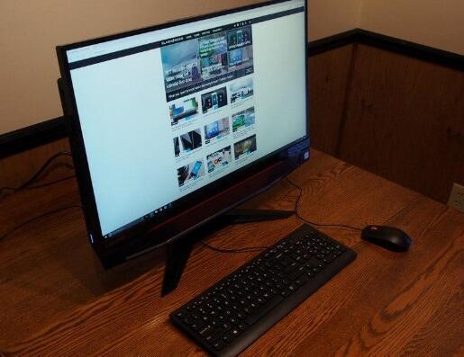 联想 IdeaCentre Y910 游戏一体机电脑的设计评测