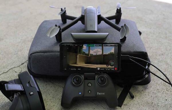 Parrot ANAFI FPV 4K 无人机评测