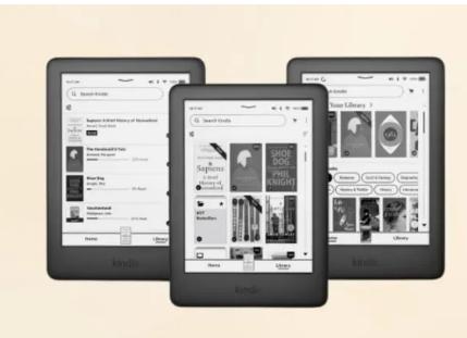 亚马逊Kindle设备将获得新的导航UI快速设置页面等