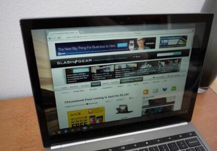 谷歌 Chromebook Pixel 笔记本电脑的像素评测