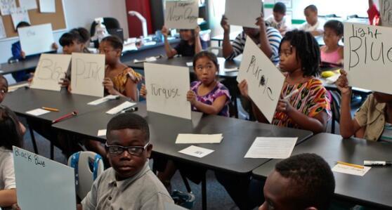 纽约市学校采用了文化响应课程计划