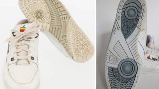 原装苹果运动鞋售价近1万美元